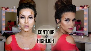 HOW TO: Contour and Highlight | Drugstore & High End Version