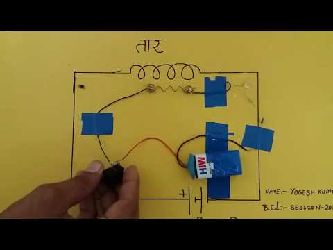 Physics Working Model for B.ed science Fair & exhibition ..Part 2  Physical science working Model