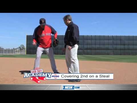 Red Sox Academy -- Covering Second Base on a Steal
