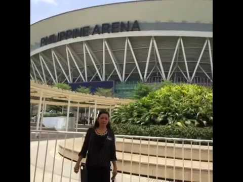 An afternoon at Philippine Arena