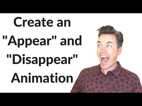 PowerPoint 2011 Tutorial to Create Appear and Disappear Animation on a Mac