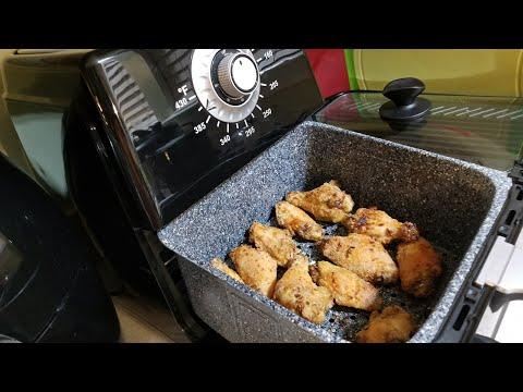 Air Fryer Kick'n Chicken Wings 8.5qt Paula Deen Airfryer Kentucky Kernal Seasoning