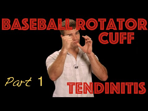 Rotator Cuff Tendonitis in the Baseball Player: 4 Things you NEED to know.