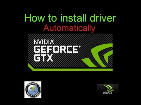 How to install Nvidia graphic driver Automatically for All Window (xp, win7, win8 , win 10 )  Latest