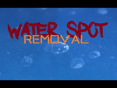 How to remove water spots from cars - Easy car water spot removal with Koch Chemie FSE