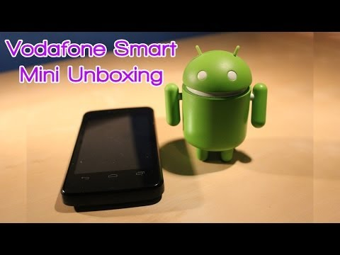 Vodafone Smart Mini Unboxing
