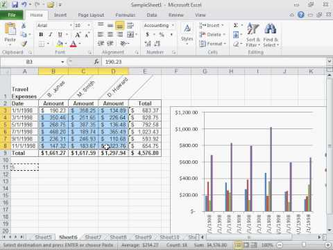 Multiply a Range of Numbers by a Number - Excel 2010