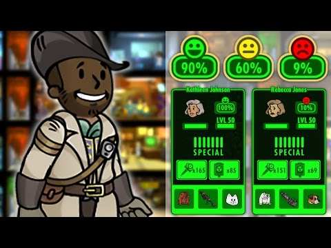 Fallout Shelter Happiness Guide: Vault Log #7