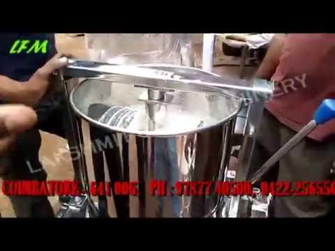 TILTING WET GRINDER - LAKSHMI FOOD MACHINERY