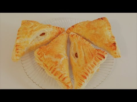 Puff Pastry Apple Turnovers Pies - Delicious And Easy Dessert | Vegetarian Recipes