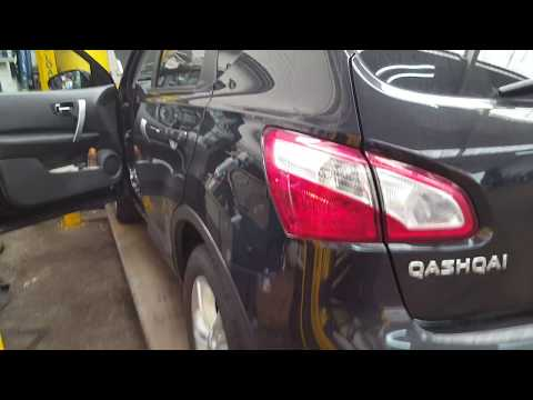 Nissan Qashqai pollen filter location and air filter replacement. 1.6 dci and 2.0 dci.
