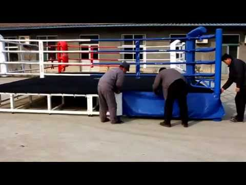 SMAI Boxing Ring Assembly