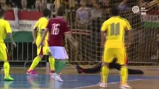 Magyarország - Románia | 4-3 | Futsal EB pótselejtező összefoglaló