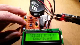 Low cost (3$) homemade PIC16F648A Demo Board