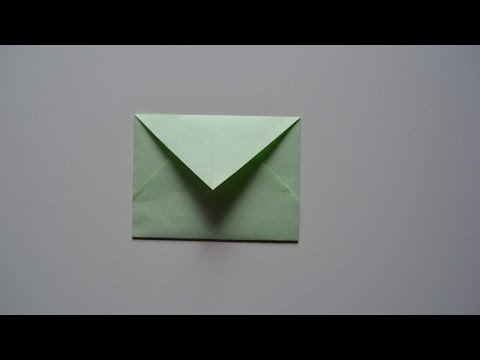 How To Make A Simple DIY Envelope - DIY Crafts Tutorial - Guidecentral