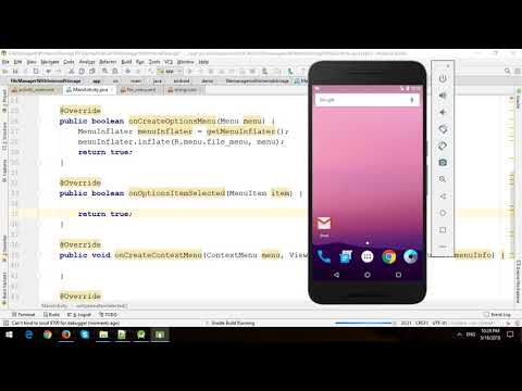 Build File Manager in Internal Storage in Android