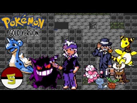 Pokemon Gold (Johto): Episode 5 - Leader Morty, Lapras, & Olivine Lighthouse