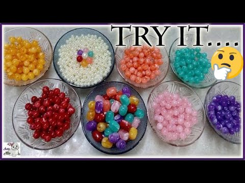 #162 How To Make Pearl Beaded Necklace & Earring set with Eye Pins    Diy    Jewellery Making    Art