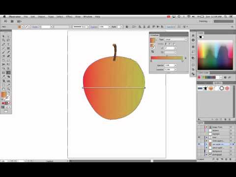 Adobe Illustrator CS6 - 8 - Advanced Gradient Tool