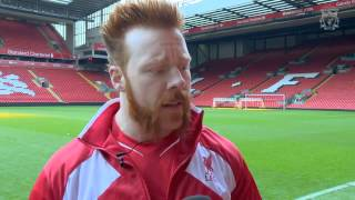 WWE Star Sheamus Visited Anfield!
