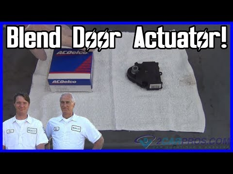 Blend Door Actuator Replacement Chevrolet Silverado 1999-2007