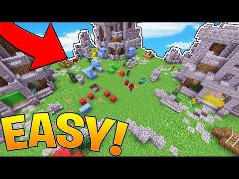 THE CRAZIEST WALLS YOU HAVE EVER SEEN!? - HYPIXEL MINECRAFT MINI WALLS MINIGAME 1.12.2