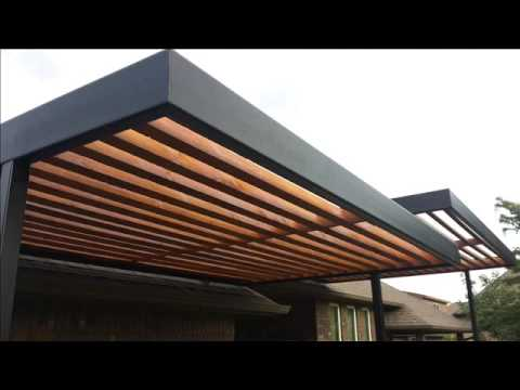 New Contemporary Pergola