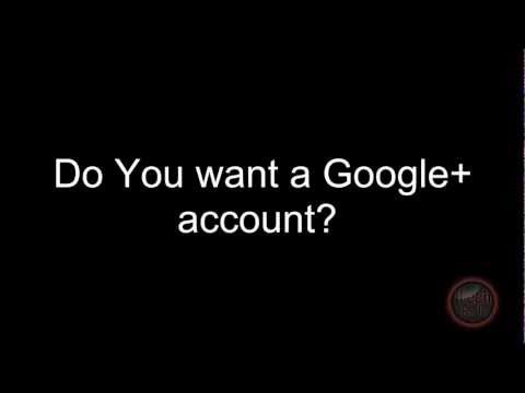 Free Google Plus Invite