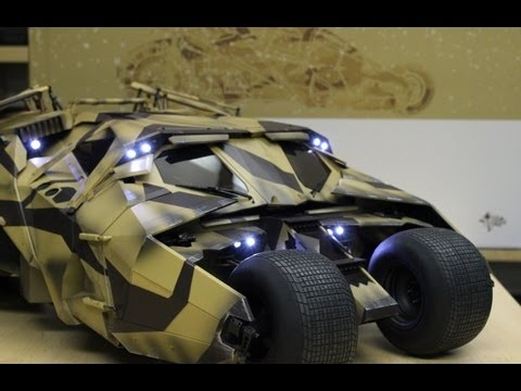 Tumbler Camouflage version Hot Toys review