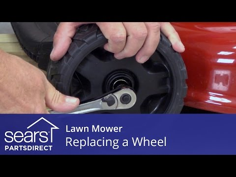How to Replace a Lawn Mower Wheel