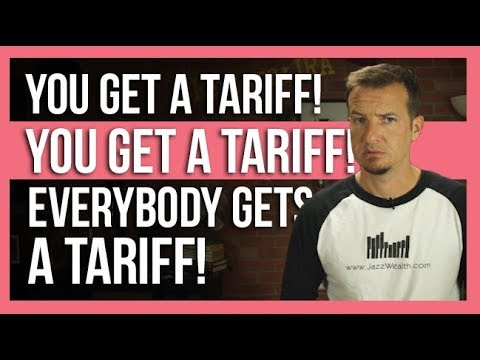 Stock market responds to tariffs for everyone!