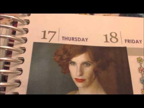 ASMR Erin Condren Joy Journal Week 12 14th-20th September