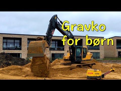 Gravko: samling af gravemaskiner for børn 3