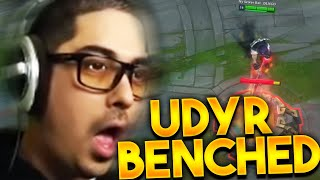 BENCHING UDYR WITH THE RICK @Trick2g