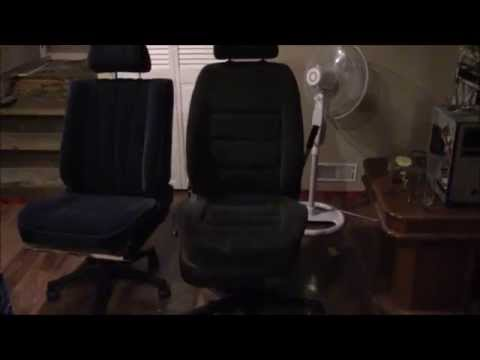 Making a Car Seat Office Chair