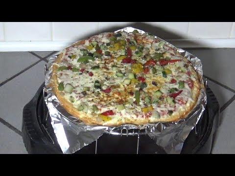 Cauliflower Crust Pizza From Frozen, NuWave Oven Instructions