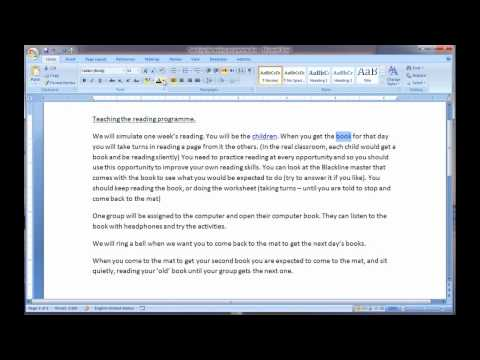 Placing Pop Up Boxes in your Word documents
