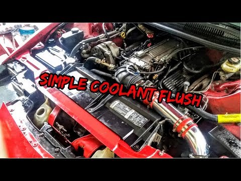 LT1 SBC Coolant Flush - Simple Coolant Flush - Radiator Flush