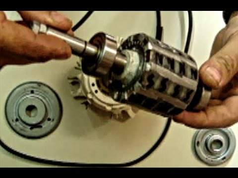 Convert AC Induction Motor to a Generator!