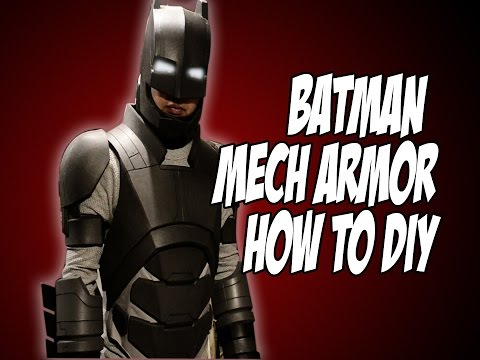 Batman Vs Superman Mech Armor BatSuit How to DiY Costume Cosplay