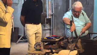 Jair e Paty - Mestre vidraceiro da Ilha de Murano (Veneza)