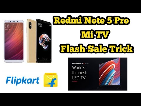 Trick to Buy Redmi Note 5 Pro And Mi TV Using android App.