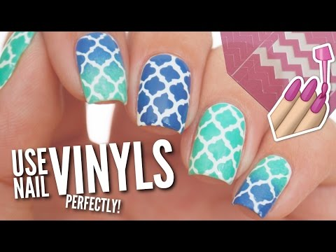 Use Nail Vinyls Perfectly On Your Nails!