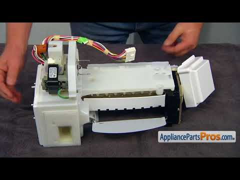Refrigerator Icemaker Assembly (Part #WPW10190981) - How To Replace