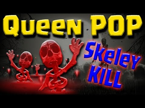 NEW TH9 Queen POP LaLoon | Skeleton SPELL KILL | 3 STAR WAR Clash of Clans