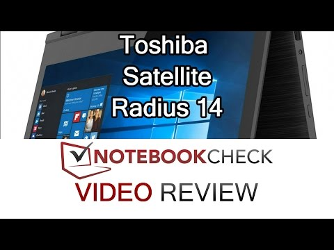 Toshiba Satellite Radius 14 review and performance scores.