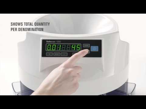 Safescan - 1200 Coin Counter