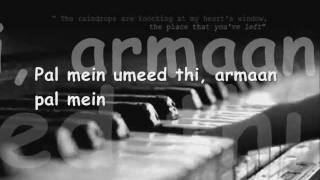 Pal Mein - Aashayein - Full Song With Lyrics - Shreya Ghoshal