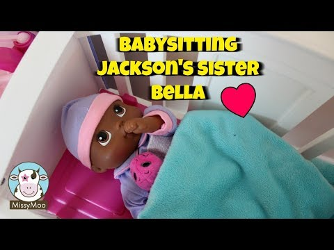Baby Alive Jackson's Sister Bedtime Routine