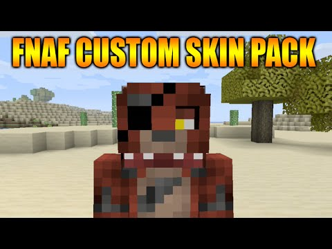 ★Minecraft Xbox 360 + PS3 Custom Skin Pack Showcase Five Nights At Freddy's + Mini Doku Texturepack★